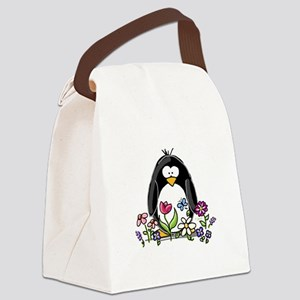 Garden Canvas Lunch Bag