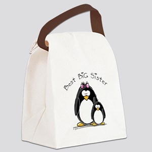 Best Big Sister Canvas Lunch Bag