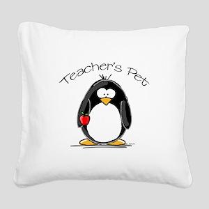 TeachersPet Square Canvas Pillow