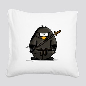 ninja Square Canvas Pillow