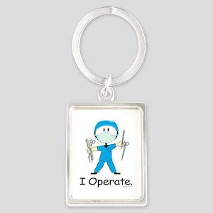 Surgeon Portrait Keychain