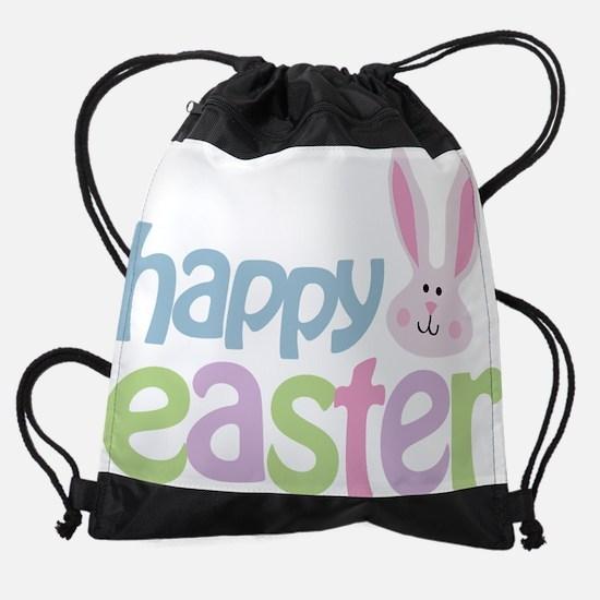 happyeaster.png Drawstring Bag