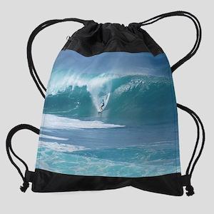 3.Derek Peters (sm) 013112090 Drawstring Bag