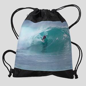 2.John Florence (sm) 013112143 Drawstring Bag