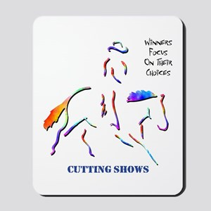 Cutting Shows Mousepad