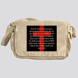 Joel 2-32 Messenger Bag