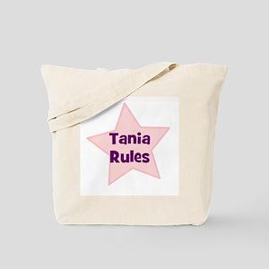 Tania Rules Tote Bag