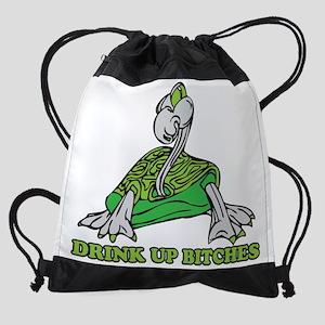 Drink Up Drawstring Bag