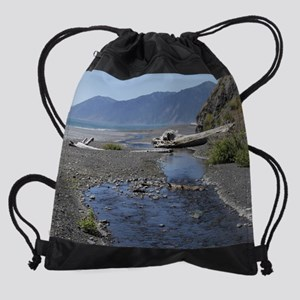 Shelter Cove Beach Drawstring Bag