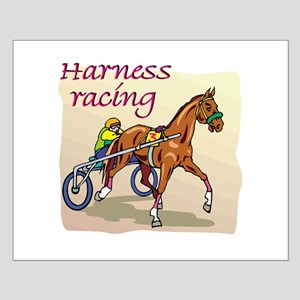 HARNESS RACING Small Poster