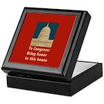 Congressional Honor Keepsake Box