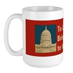 Congressional Honor 15 oz Ceramic Large Mug