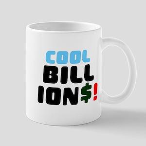COOL BILLIONS! Small Mug