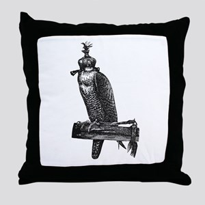 falconry Throw Pillow