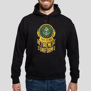 Army Retirement Uniform Hoodie (dark)