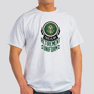 Army Retirement Uniform Light T-Shirt