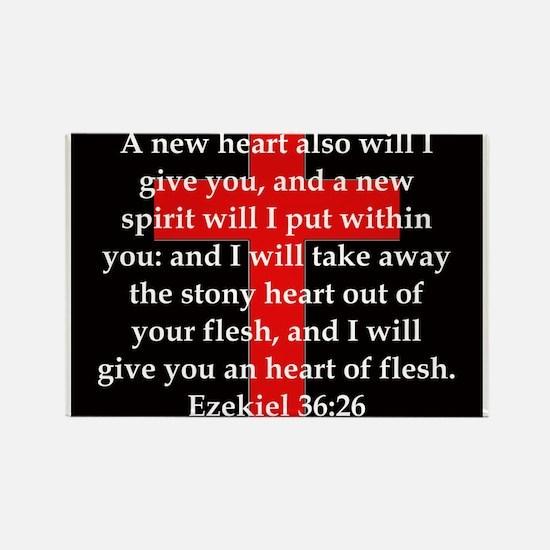 Ezekiel 36-26 Magnets