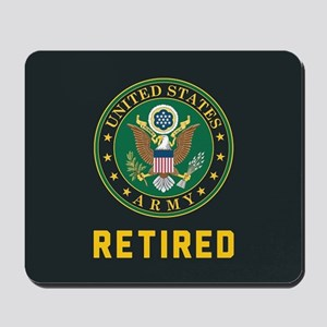 US Army Retired Mousepad