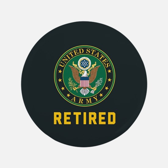 US Army Retired Button