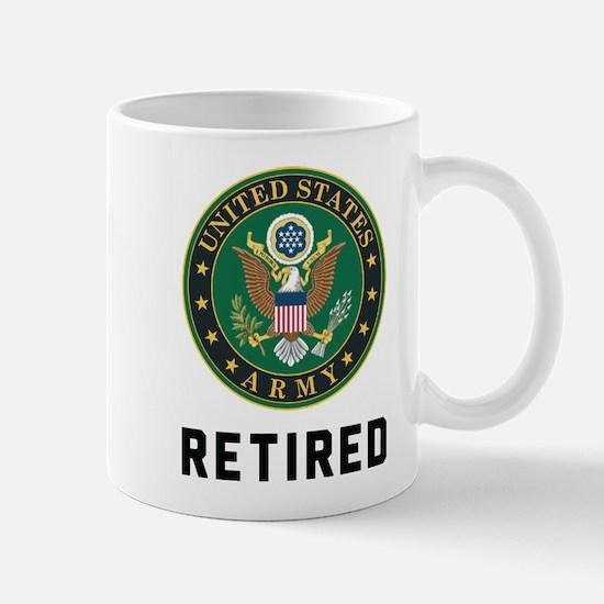 US Army Retired Mug