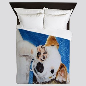 Jack Russell Terrier Junior Queen Duvet