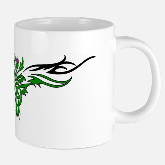 Tribal Thistle Mugs