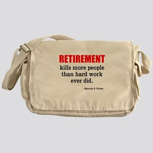Retirement Messenger Bag