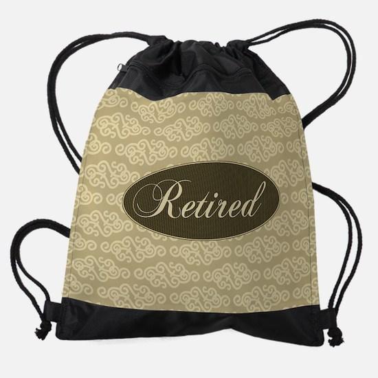 Retired Drawstring Bag
