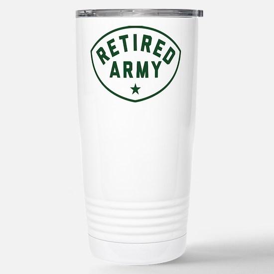 Retired Army Travel Mug