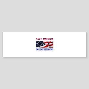 antiobama_ Sticker (Bumper)