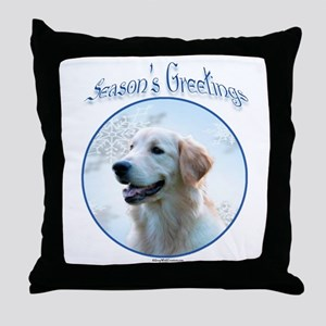 Golden Season Throw Pillow