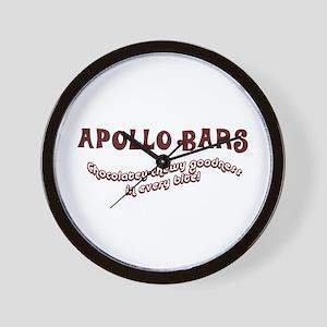 Apollo Bars Wall Clock