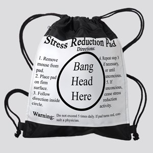 Stress Reduction Pad Drawstring Bag