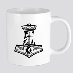 Black Celtic Thors Hamm Stainless Steel Travel Mug