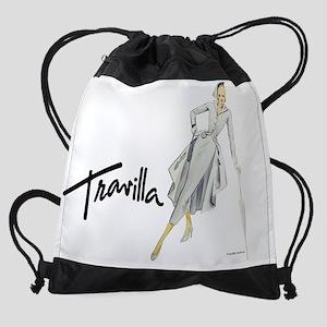 CalendarTravillaSketch74 Drawstring Bag