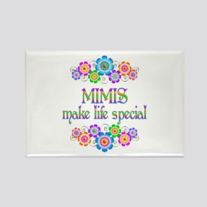 Mimis Make Life Special Rectangle Magnet