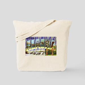 Alaska Greetings Tote Bag