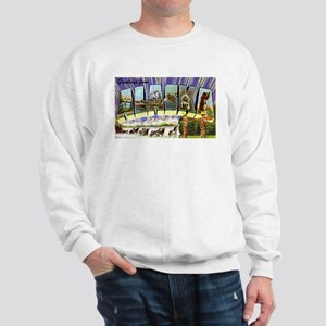 Alaska Greetings (Front) Sweatshirt