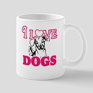 I Love Dogs Mugs
