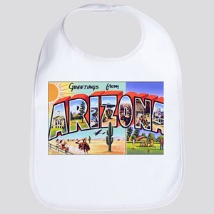 Arizona Greetings Bib