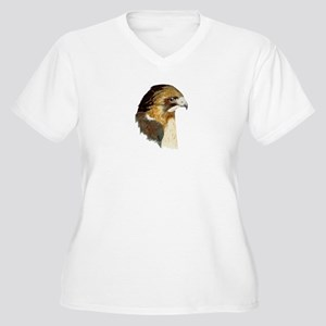 Red-tailed Hawk Plus Size T-Shirt