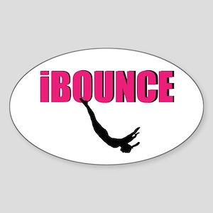 Trampoline Sport Sticker
