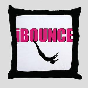 Trampoline Sport Throw Pillow
