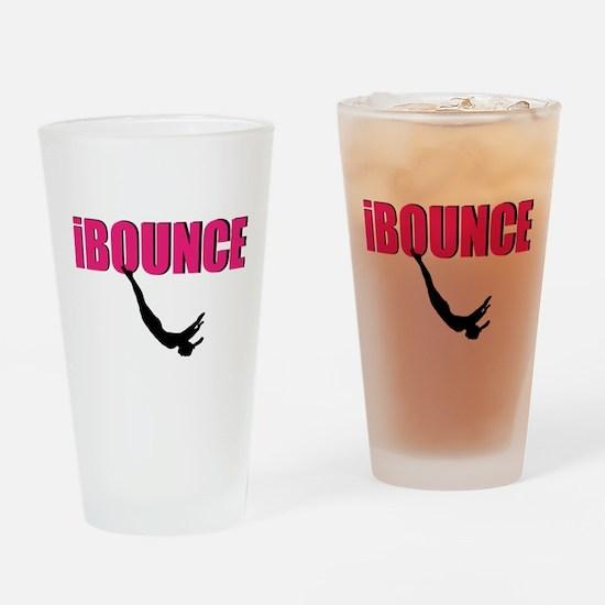 Trampoline Sport Drinking Glass