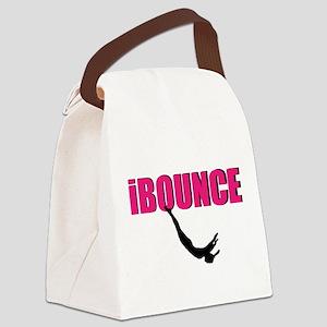 Trampoline Sport Canvas Lunch Bag