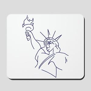 Lady Liberty Mousepad