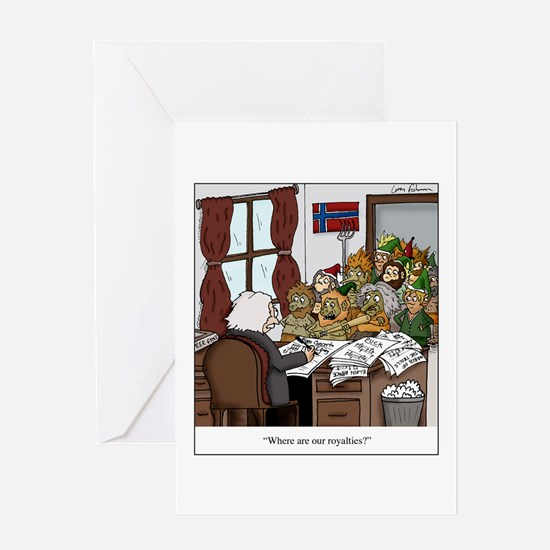 Grieg in Trouble Greeting Cards