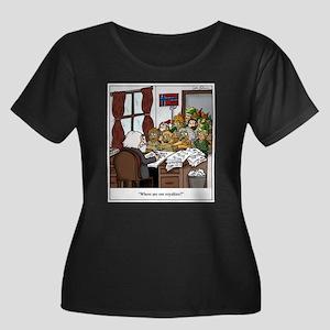 Grieg in Trouble Plus Size T-Shirt