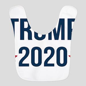 Trump 2020 - 2016 trump,2020 Tr Polyester Baby Bib