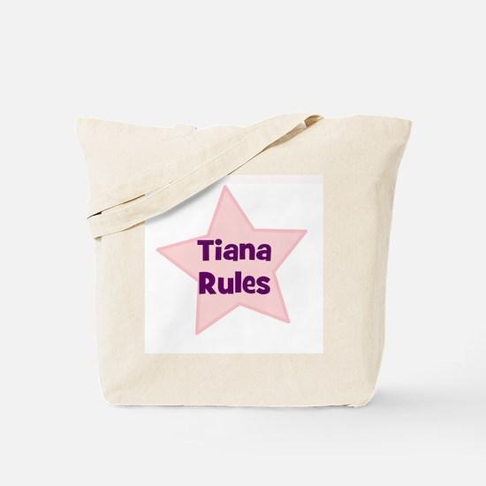 Tiana Rules Tote Bag